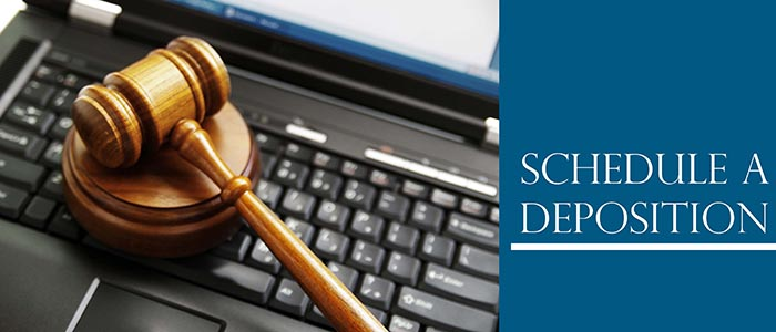 schedule a deposition-small